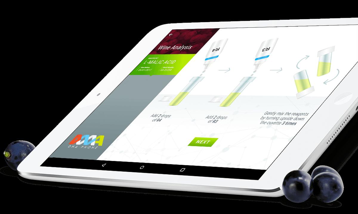 Smart Analysis, tablet